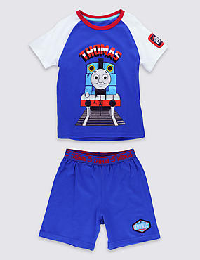 Pure Cotton Thomas & Friends™ Stay Soft Short Pyjamas (1-6 Years)