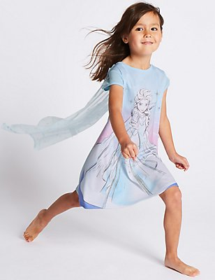 Disney Frozen™ Nightdress (1-10 Years), AQUA MIX, catlanding