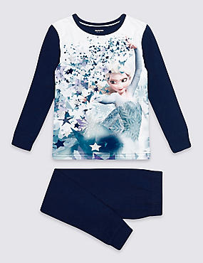 Disney Frozen™ Pyjamas (2-10 Years), BLUE MIX, catlanding