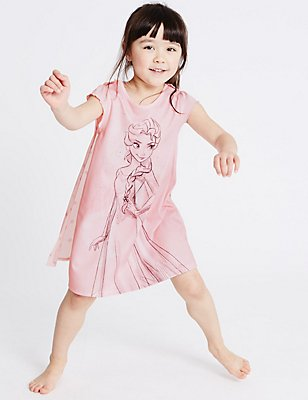 Disney Frozen™ Nightdress (1-10 Years), PINK MIX, catlanding