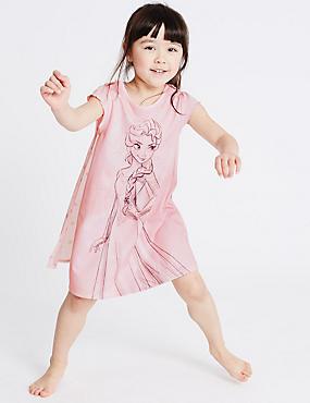 Disney Frozen-Nachthemd (1–10 Jahre), ROSA MELANGE, catlanding