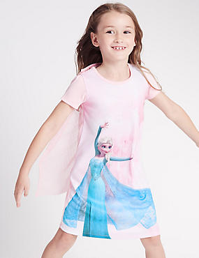 Disney Frozen Nightdress (1-10 Years), PINK MIX, catlanding