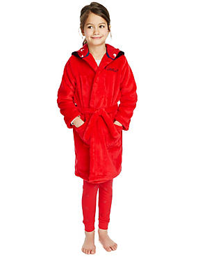 Anti Bobble Minnie Mouse Hooded Dressing Gown (1-7 Years)