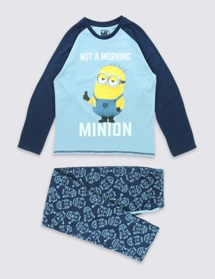 Пижама с миньоном Despicable Me™ для мальчика 3-14 лет от Marks & Spencer