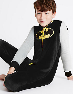 Batman™ Onesie (3-14 Years), BLACK MIX, catlanding