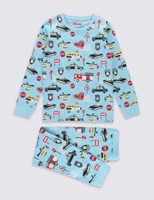 """Хлопковая пижама """"Скорая помощь"""" для мальчика 1-16 лет от Marks & Spencer"""