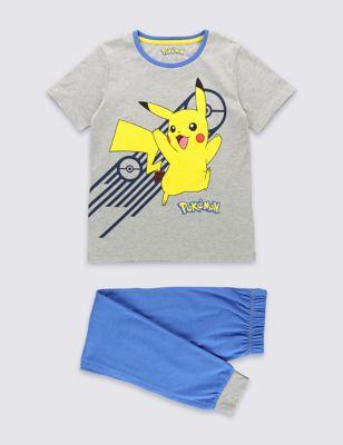 """Пижама с принтом """"Pokemon"""" для мальчика 2-12 лет T865680C"""
