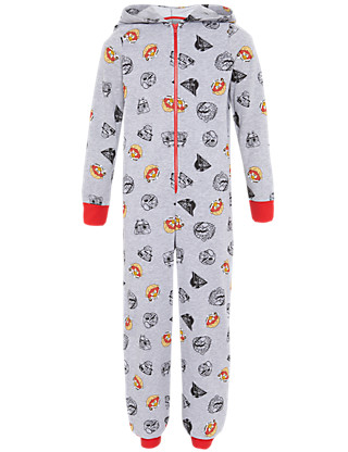 Angry Birds™ & Star Wars™ Hooded Onesie (5-14 Years) Clothing