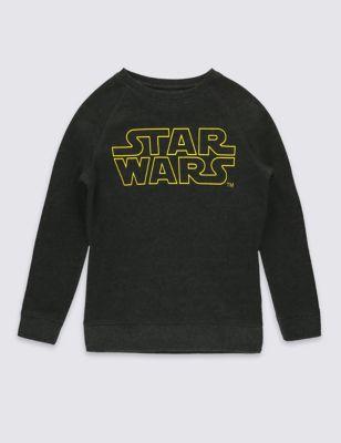 Свитшот с надписью Star Wars™ для мальчика 5-14 лет T872303C