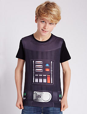 Darth Vader Chest T-Shirt (5-14 Years)