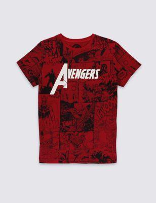 Футболка Avengers™ из чистого хлопка для мальчика 5-16 лет