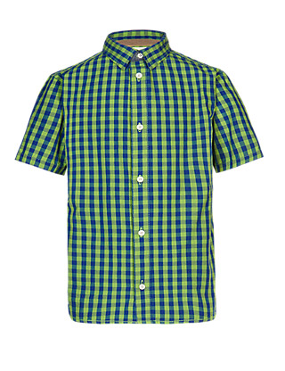 Pure Cotton Gingham Checked Shirt Clothing
