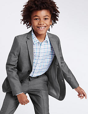 Tailored Fit Blazer (3-14 Years), DARK GREY, catlanding