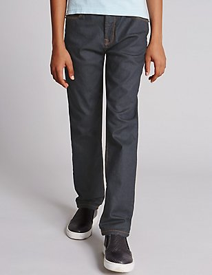 StayNEW™ Cotton Jeans with Stretch (5-14 Years), DENIM, catlanding