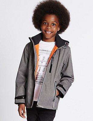 Veste dotée de la technologie Stormwear™ (du 3 au 14ans), GRIS, catlanding