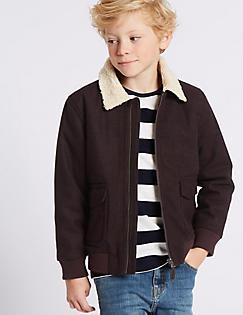 Boys Coats - Boys Parka, Padded Gilet & Leather Jackets | M&S IE