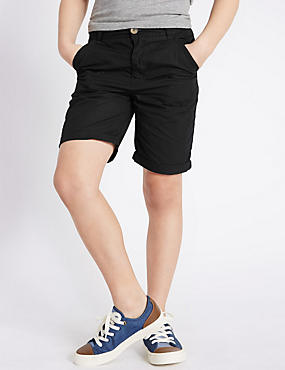 Pure Cotton Chino Shorts (5-14 Years)
