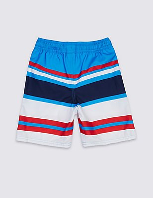 Multi Striped Swim Shorts (3-14 Years), MULTI, catlanding