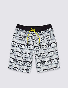 Star Wars™ Swim Shorts (3-14 Years), WHITE MIX, catlanding