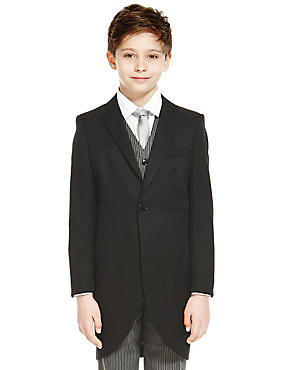 Morning Blazer (3-14 Years) , DARK GREY, catlanding