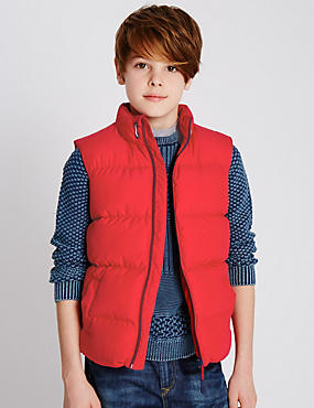 Fleece Lined Padded Gilet (5-14 Years)