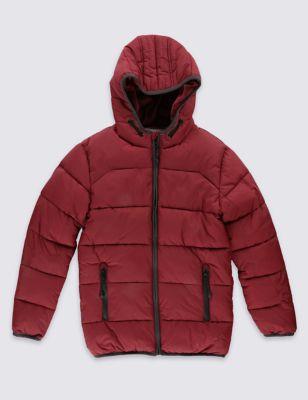 Утеплённая куртка с кантом для мальчика 5-14 лет