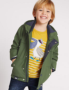 Fisherman Jacket (0-10 Years), KHAKI, catlanding
