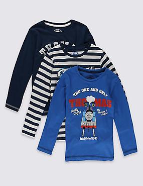 Lot de 3t-shirts 100% coton à motif Thomas et ses amis™ (du 1 au 6ans), MULTI, catlanding