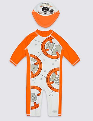 2 Piece Star Wars™ Swim Outfit (0-5 Years) , ORANGE MIX, catlanding