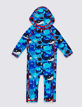 2 Piece All Over Print Outfit (0-5 Years) , BLUE MIX, catlanding