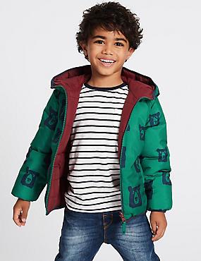 Manteau matelassé réversible, doté de la technologie Stormwear™ (du 3mois au 7ans), MULTI, catlanding
