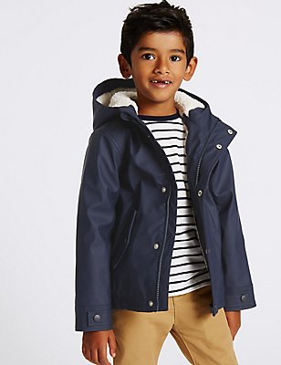 Hooded Coat with Stormwear™ (3 Months - 7 Years), NAVY, catlanding
