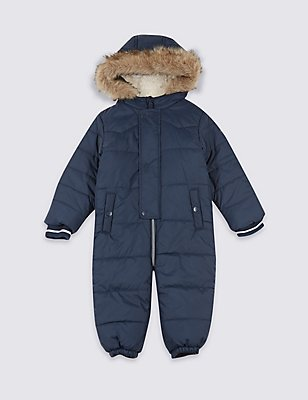Quilted Snowsuit with Stormwear™ (3 Months - 7 Years), MULTI, catlanding