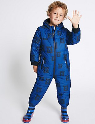 All Over Print Snowsuit with Stormwear™ (3 Months - 7 Years), MULTI, catlanding