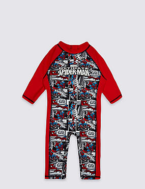 2 Piece Spider-Man™ Swim Outfit (2-8 Years), RED MIX, catlanding
