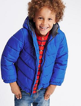 Manteau matelassé doté de la technologie Stormwear™ (du 1 au 7ans), BLEU, catlanding