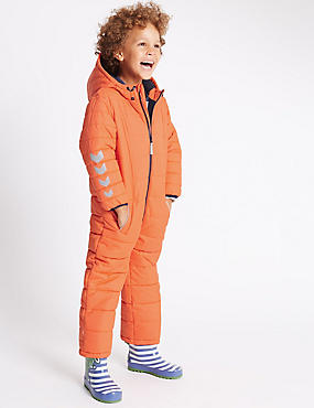 All in One Snowsuit with Stormwear™ (1-7 Years), ORANGE, catlanding