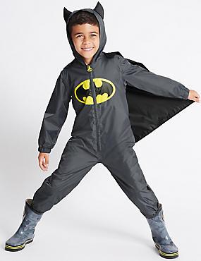Kids' Batman™ Puddle Suit (1-7 Years), BLACK, catlanding