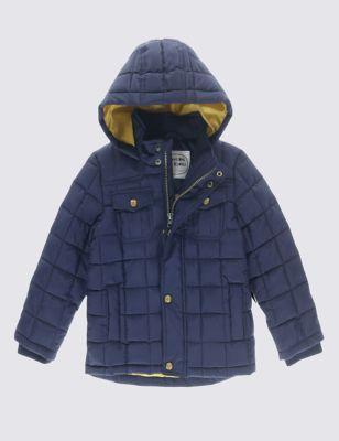 Стёганая куртка Stormwear™ с капюшоном для мальчика 1-7 лет T882495Y