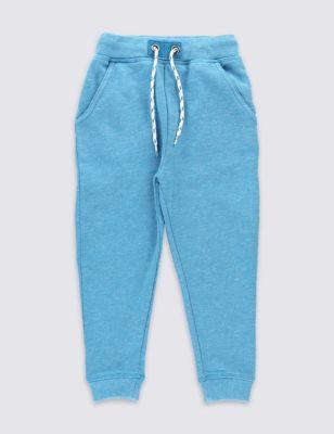 Хлопковые джоггеры бирюзового цвета для мальчика 3 мес - 5 лет T882856T