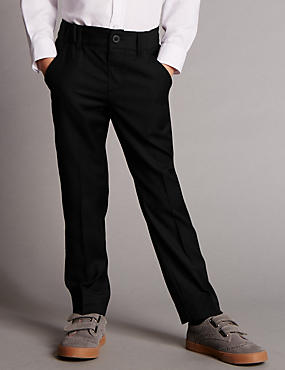 Flat Front Trousers with Supercrease™ (1-10 Years)