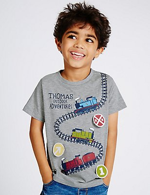 Thomas & Friends™ T-Shirt (1-6 Years), GREY MIX, catlanding