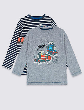 2 Pack Thomas & Friends™ Tops (1-6 Years), BLUE MIX, catlanding