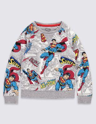 Хлопковый свитшот Superman™ для мальчика 3 мес - 5 лет T883400C