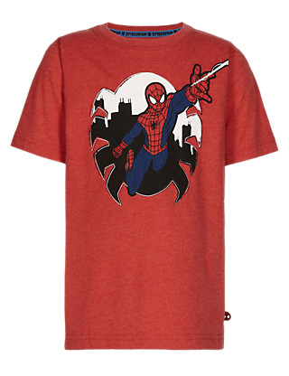 Crew Neck Spider-Man™ T-Shirt Clothing