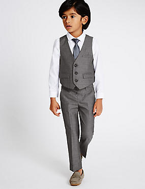4 Piece Outfit (1-5 Years), GREY MIX, catlanding