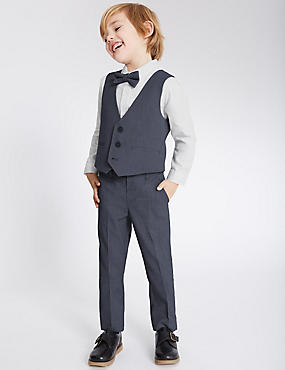 4 Piece Outfit (1-5 Years), BLUE MIX, catlanding