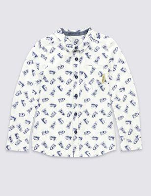 """Рубашка с принтом """"Thomas & Friends™"""" для мальчика 1-6 лет M&S Collection T884657C"""