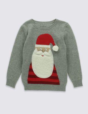 Джемпер Santa из чистого хлопка для мальчика 1-7 лет T887094T