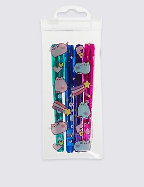Lot de stylos à encre gel pour enfants à motif Pusheen, MULTI/PASTEL, catlanding